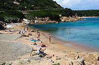 Cala Spalmatore auf Isola La Maddalena,  La Maddalena-Archipel (Arcipelago della Maddalena), Provinz Olbia-Tempio, Nord Sardinien, Italien