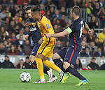 05.04.2016 Barcelona. Uefa Champions League Quarter-finals 1st leg. Game between FC Barcelona agaisnt Atletico de Madrid at Camp Nou. Picture show Neymar
