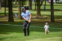 Tyrrell Hatton (ENG) chips on to 11 during round 2 of the World Golf Championships, Mexico, Club De Golf Chapultepec, Mexico City, Mexico. 2/22/2019.<br /> Picture: Golffile | Ken Murray<br /> <br /> <br /> All photo usage must carry mandatory copyright credit (&copy; Golffile | Ken Murray)