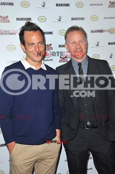 Will Arnett and Morgan Spurlock at the premiere of Morgan Spurlock's 'Mansome' at the ArcLight Cinemas on May 9, 2012 in Hollywood, California. ©mpi35/MediaPunch Inc.