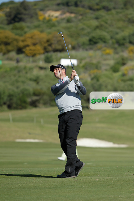Ricardo Santos (POR) on the 10th during Round 2 of the NH Collection Open at the La Reserva de Sotogrande Club de Golf in Cadiz Spain on Friday 4th April 2014<br /> Picture:  Thos Caffrey / www.golffile.ie