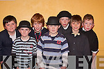 VARIETY: Participating in the variety show in Milltown Community Hall on Thursday evening were front l-r: Niall Kennelly, Niall O'Shea and Christopher Scully. Back l-r: Michael O'Leary, Conor O'Sullivan, Ryan Buckley and Alan Daly.   Copyright Kerry's Eye 2008