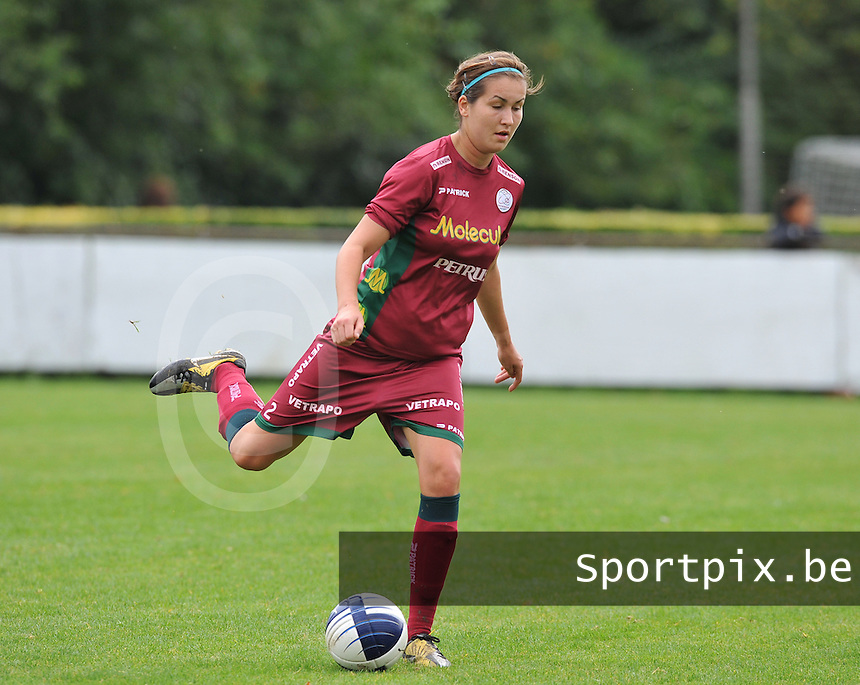 Dames Zulte Waregem : Helene Delebarre.foto DAVID CATRY / Vrouwenteam.be