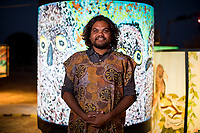 Parrtjima, a festival in Light, Alice Springs, Australia 2017. James Horan Photography for Tourism NT