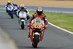 Qualifying practices in Le Mans during the world championship 2015<br /> stefan bradl