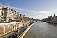 View across the River Seine to the Quai Malaquais Paris..©shoutpictures.com.john@shoutpictures.com