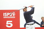 Matteo Manassero drives at the 4th hole during the first round of the ISPS Handa Wales Open 2012....31.05.12.©Steve Pope