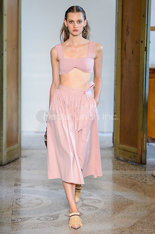 BLUMARINE<br /> Milan Fashion Week  ss17<br /> on September 25, 2016<br /> CAP/GOL<br /> &copy;GOL/Capital Pictures /MediaPunch ***NORTH AND SOUTH AMERICAS ONLY***