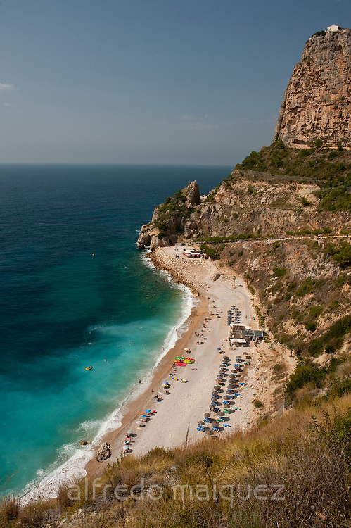 Moraig beach, Benitachell village, Alicante province, Spain