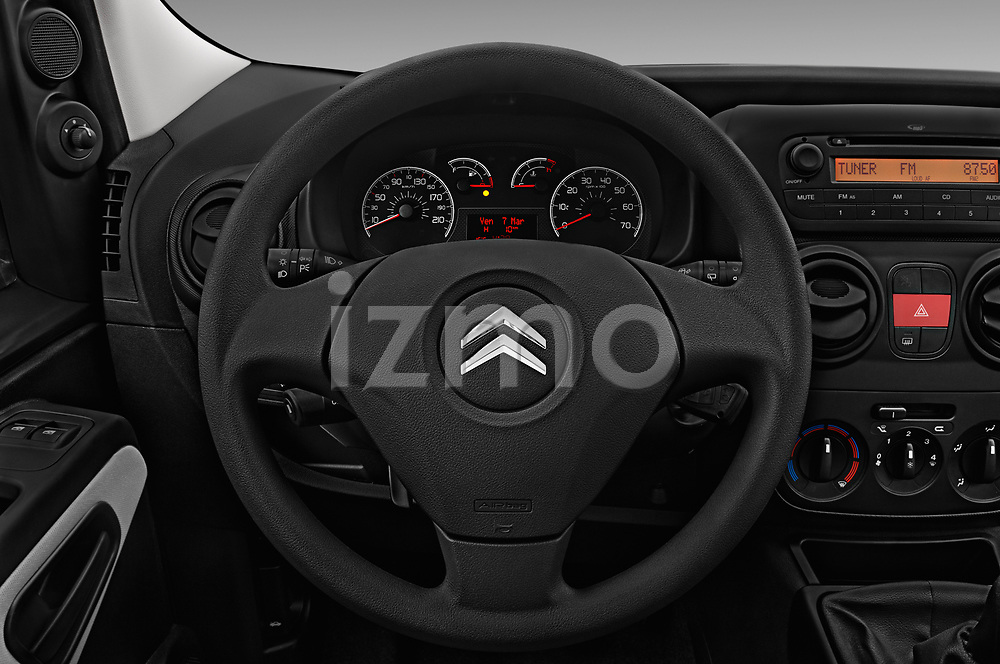 Car pictures of steering wheel view of a 2017 Citroen Nemo  base 5 Door Mini Van