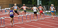 29 JUL 2009 - LOUGHBOROUGH, GBR - Womens 400m Hurdles - Loughborough European Athletics Permit Meeting.(PHOTO (C) NIGEL FARROW)