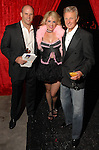 Clay Crawford, Ashley Hill and Manfred Jachmich at the Orange Show Gala at Adickes SculpturWorx Studio  Saturday  Nov. 03,2007.(Dave Rossman/For the Chronicle)