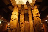 Totem pole display, Alaska