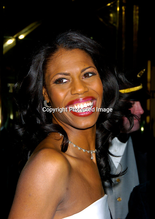 "Omarosa Manigault-Stallworth ..at ""The Apprentice"" finale Party on April 15, 2004 at Trump Tower. Photo by Robin Platzer, Twin Images"
