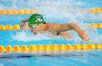 Republic of South Africa's Chad le Clos wins the men's 200m butterfly<br /> <br /> Photographer Chris Vaughan/CameraSport<br /> <br /> 20th Commonwealth Games - Day 3 - Saturday 26th July 2014 - Swimming - Tollcross International Swimming Centre - Glasgow - UK<br /> <br /> © CameraSport - 43 Linden Ave. Countesthorpe. Leicester. England. LE8 5PG - Tel: +44 (0) 116 277 4147 - admin@camerasport.com - www.camerasport.com