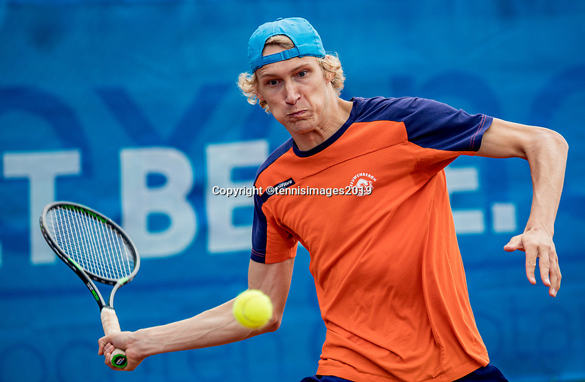 Zandvoort, Netherlands, 8 June, 2019, Tennis, Play-Offs Competition, Niels Lootsma (NED)<br /> Photo: Henk Koster/tennisimages.com