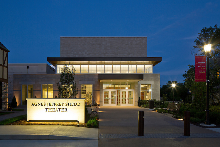 Performing Arts Center at the Columbus School for Girls   DesignGroup