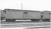 Baggage car #125 built by D&amp;RG as #26 in 1883.  Renumbered in August 1885.<br /> D&amp;RGW  Salida, CO  Taken by Boyd, J. T. - 6/9/1935