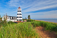 West Point Lighthouse and red sand<br />