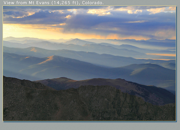 A paved road ascends Mt Evans (14,250 feet). It's a drive of a lifetime, just west of Denver. <br /> John offers wildlife photo tours of Mt Evans. Click the CONTACT button above for inquiries. .  John offers private photo tours and workshops throughout Colorado. Year-round.