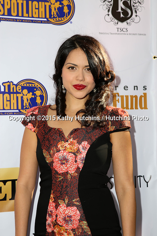 LOS ANGELES - NOV 7:  Alyssa Diaz at the Kids In The Spotlight's Movies By Kids, For Kids Film Awards at the Fox Studios on November 7, 2015 in Century City, CA