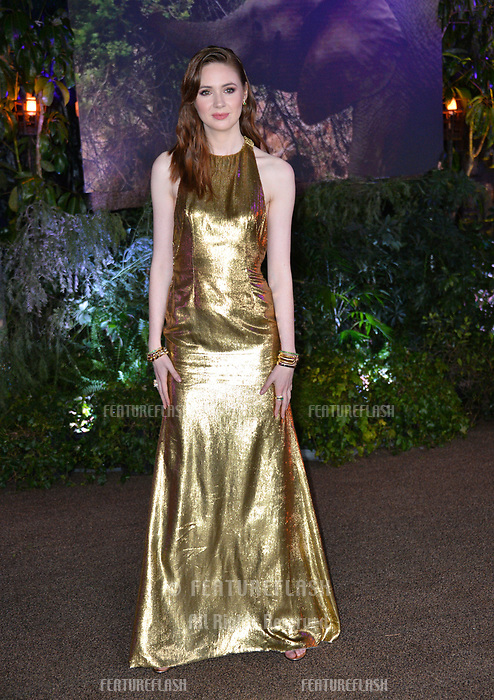 """Karen Gillan at the Los Angeles premiere of """"Jumanji: Welcome To the Jungle"""" at the TCL Chinese Theatre, Hollywood, USA 11 Dec. 2017<br /> Picture: Paul Smith/Featureflash/SilverHub 0208 004 5359 sales@silverhubmedia.com"""