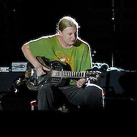 Derek Trucks playing with the Eric Clapton Band, Perth, Western Australia, 2007