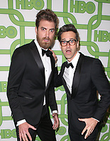 BEVERLY HILLS, CA - JANUARY 6: Rhett McLaughlin, Charles Neal III, at the HBO Post 2019 Golden Globe Party at Circa 55 in Beverly Hills, California on January 6, 2019. <br /> CAP/MPI/FS<br /> ©FS/MPI/Capital Pictures