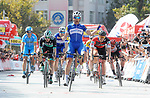 Maximiliano Richeze (ARG) Quick-Step Floors wins Stage 1 of the 54th Presidential Tour of Turkey 2018, running 150km from Konya to Konya, Turkey. 9th October 2018.<br /> Picture: Brian Hodes/VeloImages | Cyclefile<br /> <br /> <br /> All photos usage must carry mandatory copyright credit (© Cyclefile | Brian Hodes/VeloImages)