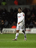 Pictured: Jordi Gomez of Swansea City in action<br /> Re: Coca Cola Championship, Swansea City FC v Reading at the Liberty Stadium. Swansea, south Wales, Saturday 17 January 2009<br /> Picture by D Legakis Photography / Athena Picture Agency, Swansea 07815441513
