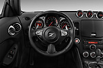 Steering wheel view of a 2013 Nissan 370Z Coupe