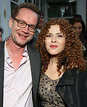 Michael Riedel and Bernadette Peters attends the Urban Stages' 35th Anniversary celebrating Women in the Arts at the Central Park Boat House on May 15, 2019 in New York City.