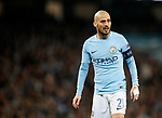 Manchester City's David Silva in action during the Champions League Quarter Final 2nd Leg match at the Etihad Stadium, Manchester. Picture date: 10th April 2018. Picture credit should read: David Klein/Sportimage