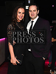 Paddy Comyn and Kristina Jelavica at the ABACAS Ball in the Westcourt Hotel. Photo:Colin Bell/pressphotos.ie