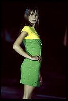 Gianni Versace, spring-summer 1994<br /> Milan<br /> CARLA BRUNI<br /> Credit : Tordoir/DALLE