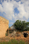 Israel, Southern Coastal Plain, ruins of the Shrine of Al Nabi Rubin