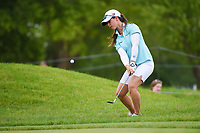 Nuria Iturrioz (ESP) chips on to 1 during the round 3 of the KPMG Women's PGA Championship, Hazeltine National, Chaska, Minnesota, USA. 6/22/2019.<br /> Picture: Golffile | Ken Murray<br /> <br /> <br /> All photo usage must carry mandatory copyright credit (© Golffile | Ken Murray)