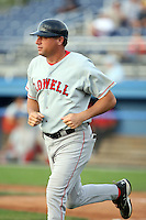 July 10th 2008:  Manager Gary DiSarcina of the Lowell Spinners, Class-A affiliate of the Boston Red Sox, during a game at Dwyer Stadium in Batavia, NY.  Photo by:  Mike Janes/Four Seam Images