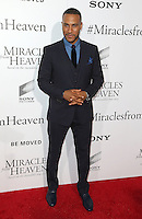 "09 March 2016 - Hollywood, California - DeVon Franklin. ""Miracles From Heaven"" Los Angeles Premiere held at ArcLight Hollywood. Photo Credit: Sammi/AdMedia"