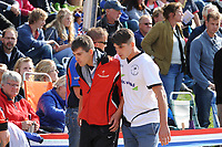 FIERLJEPPEN: IT HEIDENSKIP: 23-08-2014, Nederlands Kampioenschap Fierljeppen, Ysbrand troost zijn broer Oane Galama, ©foto Martin de Jong FIERLJEPPEN: FRYSLÂN: Historie, ©foto Martin de Jong