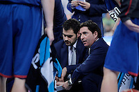 FC Barcelona Regal's coach Xavi Pascual during Spanish Basketball King's Cup Final match.February 07,2013. (ALTERPHOTOS/Acero)