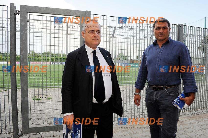 Claudio Lotiro e Angelo Peruzzi<br /> 26-07-2016 Roma<br /> Allenamento Lazio a Formello<br /> SS Lazio traning day<br /> @ Marco Rosi / Fotonotizia / Insidefoto