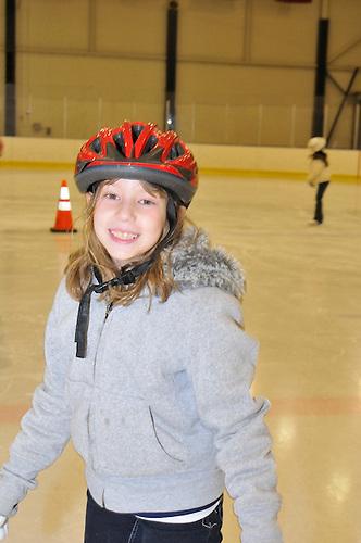 Emma skates,<br /> Jan 2009