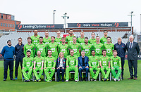 Picture By Allan McKenzie/SWpix.com - 11/04/18 - Cricket - Lancashire County Cricket Club Photo Call Media Day 2018 - Emirates Old Trafford, Manchester, England - Lancashire County Cricket Club Team Photo 2018 with Leasing Options.