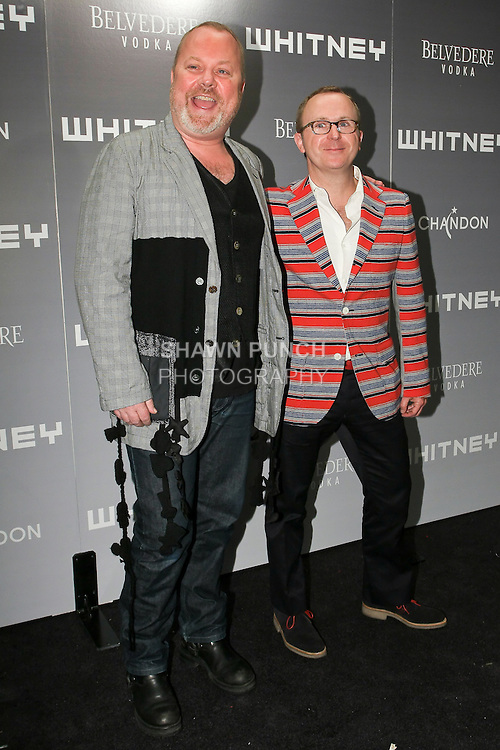 Guests arrive at the 2011 Whitney Art Party: The Groundbreakers, at Highline Stages, May 24, 2011.