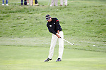 Jyoti Randhawa hits his approach shot to the 18th green in the final round of the Open de Espana in Madrid...Photo NEWSFILE/Manus O'Reilly.(Photo credit should read Manus O'Reilly/NEWSFILE)....This Picture has been sent you under the condtions enclosed by:.Newsfile Ltd..The Studio,.Millmount Abbey,.Drogheda,.Co Meath..Ireland..Tel: +353(0)41-9871240.Fax: +353(0)41-9871260.GSM: +353(0)86-2500958.email: pictures@newsfile.ie.www.newsfile.ie.FTP: 193.120.102.198..