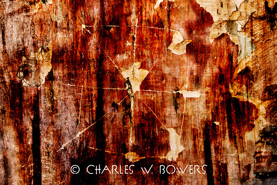 The walls of the sugar mill ruin<br /> <br /> -Limited Edition of 50 prints.