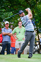 Ryan Moore (USA) watches his tee shot on 7 during round 2 of the Dean &amp; Deluca Invitational, at The Colonial, Ft. Worth, Texas, USA. 5/26/2017.<br /> Picture: Golffile | Ken Murray<br /> <br /> <br /> All photo usage must carry mandatory copyright credit (&copy; Golffile | Ken Murray)