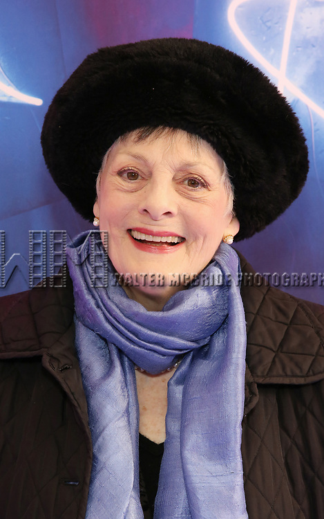"""Dana Ivey attends the Broadway Opening Night Arrivals for """"Angels In America"""" - Part One and Part Two at the Neil Simon Theatre on March 25, 2018 in New York City."""