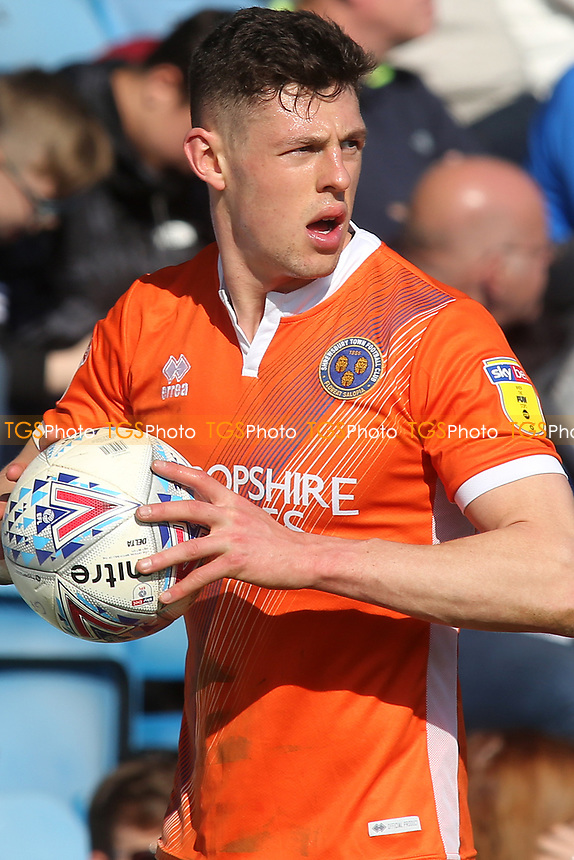 James Bolton, scorer of Shrewsbury's opening goal during Gillingham vs Shrewsbury Town, Sky Bet EFL League 1 Football at The Medway Priestfield Stadium on 13th April 2019